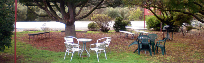Auburn Shiraz Motel - Outside Table and Chairs